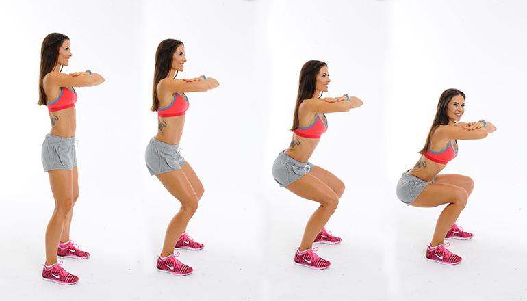bayanlar için squat